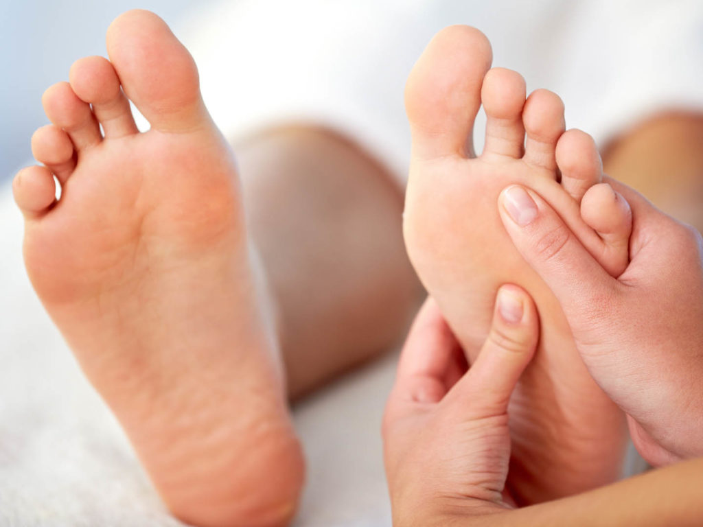 Reflexology Foot Massage in Oakville, Mississauga